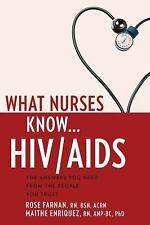NEW - What Nurses Know...HIV/AIDS