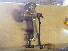 Vintage No. 2, Griswold Cast Iron, Food and Meat Grinder HEAVY  very good cond