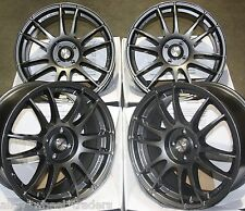 "17"" GM SUZUKA ALLOY WHEELS FITS 4x100 PEUGEOT PROTON RENAULT MODELS"