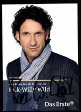 Falk Willy Wild Rote Rosen Autogrammkarte Original Signiert ## BC 33827