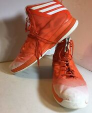 ADIDAS Infrared Orange CRAZY SHADOW Basketball Shoes MENS Size 18 Sprint Web