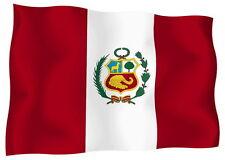Adesivo Auto Sticker Tuning Moto Auto Stickers Bandiera Bandiera Perù
