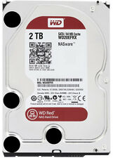 Western Digital Red WD20EFRX 2TB NAS Hard Drive 3.5Inch SATA III 64MB Cache 3.5""
