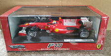 FORMULA 1 F1 FERRARI F10 FELIPE MASSA 2010 1/18 CAR #7 HOT WHEELS T6288 NIB