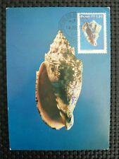 BRASIL MK 1977 SHELL MUSCHEL MAXIMUMKARTE CARTE MAXIMUM CARD MC CM c1142