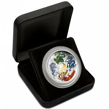 2014 Chinese Anicient Mythical Creatures 5oz Silver Coin