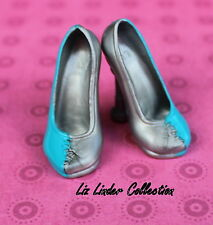MONSTER HIGH ~ Frankie Stein I Heart Love Fashion BLUE SILVER SHOES REPLACEMENT