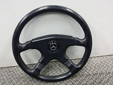 RARE MOMO 4 SPORK  STEERING WHEELS WITH  MOMO BENZ Horn AMG W123 W124 W126 W201