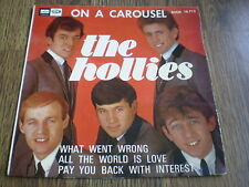 "THE HOLLIES - ON A CAROUSEL 7"" SPANISH EP 1967 ODEON"