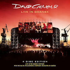 2 CD + 2 DVD SET DAVID GILMOUR LIVE IN GDANSK BRAND NEW SEALED (4 PC) FREE ZONE