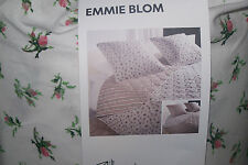 Brand New Ikea EMMIE BLOM bedspread +2 cushion covers Multicolour ..260 x 280cm