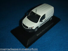 Mercedes benz c 415 citan recuadro auto/panel van blanco/White 1:43 nuevo/new