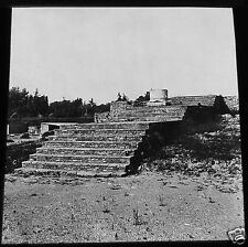 Glass Magic lantern slide THE PALATINE TEMPLE OF JUPITER ROME C1900 ITALY ROMANS