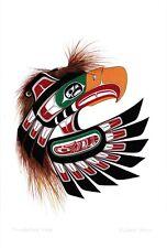Thunderbird Mask Richard Shorty Art Card Northern Tuchone Yukon Native