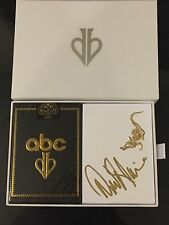 David Blaine Signed Gold Gatorbacks and ABC Playing Cards Box Set *Very Limited*