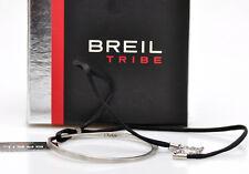 Breil Tribe Chakra collana acciaio e tessuto, ref.TJ0602 nuovo, in box BR146