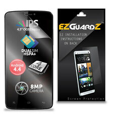 4X EZguardz LCD Screen Protector Skin Cover Shield HD 4X For Allview V1 Viper E