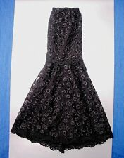 TONNER TYLER WENTWORTH BOUTIQUE LACE EVENING SKIRT NIP