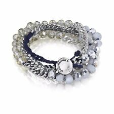 Chloe and Isabel Bead and Chain Multi-Wrap Bracelet