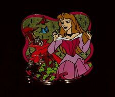 Disney HKDL Princess Aurora and Forest Friends Pin