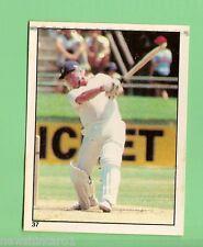 1982 SCANLENS CRICKET STICKER #37  DAVID BAIRSTOW, ENGLAND