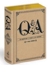 Q and A a Day : 5-Year Journal by Potter Style (2010, Diary) NEW