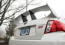Perrin Wing Spoiler Stabilizer Stiffi For 2011-2014 Subaru STi Sedan 4-Door Blac