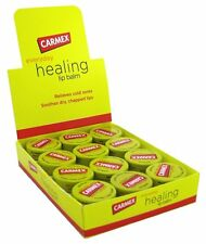 Carmex Ointment Lip Balm Original Jar for Cold-Sores (box of 12) 0.5 oz each