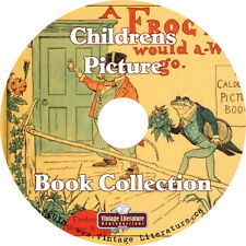 Childrens Antique Picture Books { 147 Colorful Books from 1830 to 1922 } on DVD