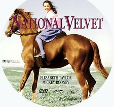 National Velvet DVD (1944) Movie Starring Elizabeth Taylor - DVD