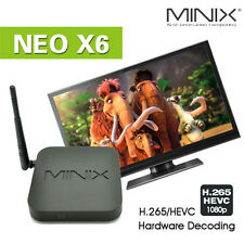 MINIX NEO X6 Android Quad Core Wireless Smart TV BOX Streaming Media Player