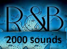 R&B 2000 Sound Drum & Samples Kit RnB wav MPC Fruity Logic Maschine Reason FL