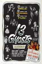 13 Ghosts Poster 01 A4 10x8 Photo Print