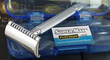 Pearl SS-03 Open Comb Long Handle Double Edge Safety Razor