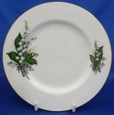 "A DUCHESS 'LILY OF THE VALLEY' 6 5/8"" TEA/SIDE PLATE (SMOOTH EDGE)"
