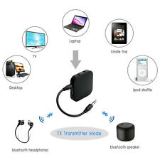 Stereo Bluetooth Receiver Transmitter Aptx Low Latency Adapter For PC TV iPod
