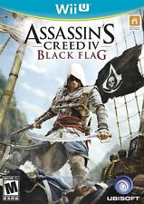 Assassin's Creed IV 4 Black Flag RE-SEALED Nintendo Wii U GAME