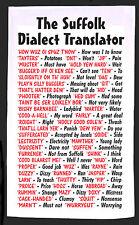 Suffolk dialetto Traduttore qualità 100% COTONE Full Size asciugamani