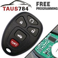 New Remote Start Keyless Fob Clicker Alarm Transmitter For Chevy Buick OUC60270