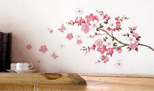 BEAUTY Removable Art Vinyl Quote DIY Peach Blossom Wall Sticker Decal Mural Home