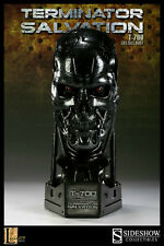 TERMINATOR T-700 LIFE SIZED BUST STATUE SIDESHOW BOWEN LEGACY