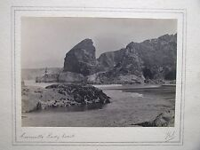 Cornwall's Rocky Coast. 1930s Original Photograph by F G Sams. (37287)