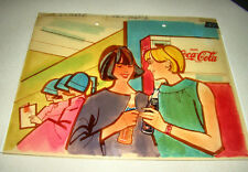 1 of a Kind - AUTHENTIC Coca-Cola PRINT AD CELL -2 part- FANTA - TAB Advertising