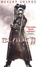 VHS Video Movie Blade II 2 Wesley Snipes Kris Kristofferson Leonor Varela
