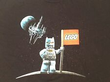 Mens XXXL T-shirt Black Lego Astronaut On Moon