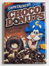 Choco Donuts Cap'n Crunch FRIDGE MAGNET (2.5 x 3.5 inches) cereal box chocolate