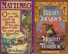 Complete Set Series - Lot of 19 Redwall HARDCOVERS by Brian Jacques (Fantasy)