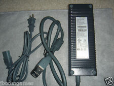 Microsoft XBOX 360 203W Power Supply Brick w/ Power Cord AND Warranty 16.5A