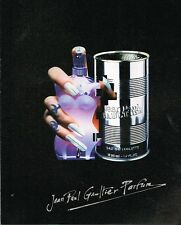 Publicité advertising 1994 Eau de Toilette Jean paul gaultier
