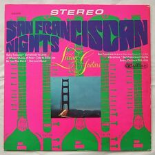 LIVING GUITARS San Fransican Nights 1960s US LOUNGE PSYCH LP Sitar